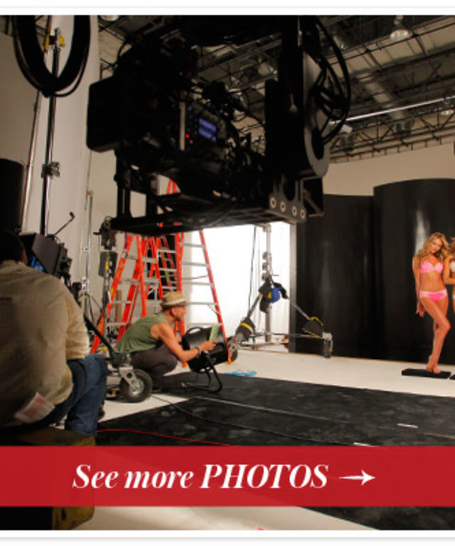 Victoria's Secret Body by Victoria's Secret Behind-the-Scenes Photo Shoot