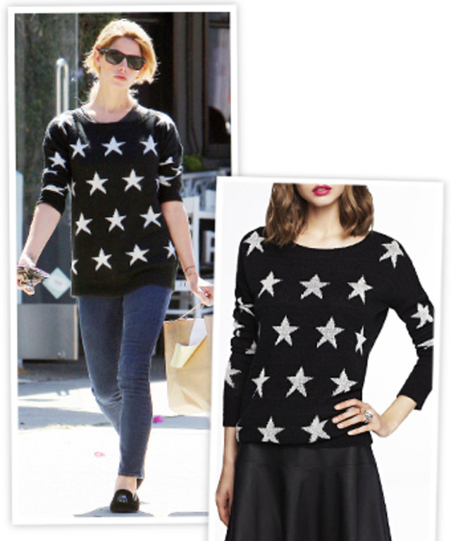 Ashley Greene's Express Sweater