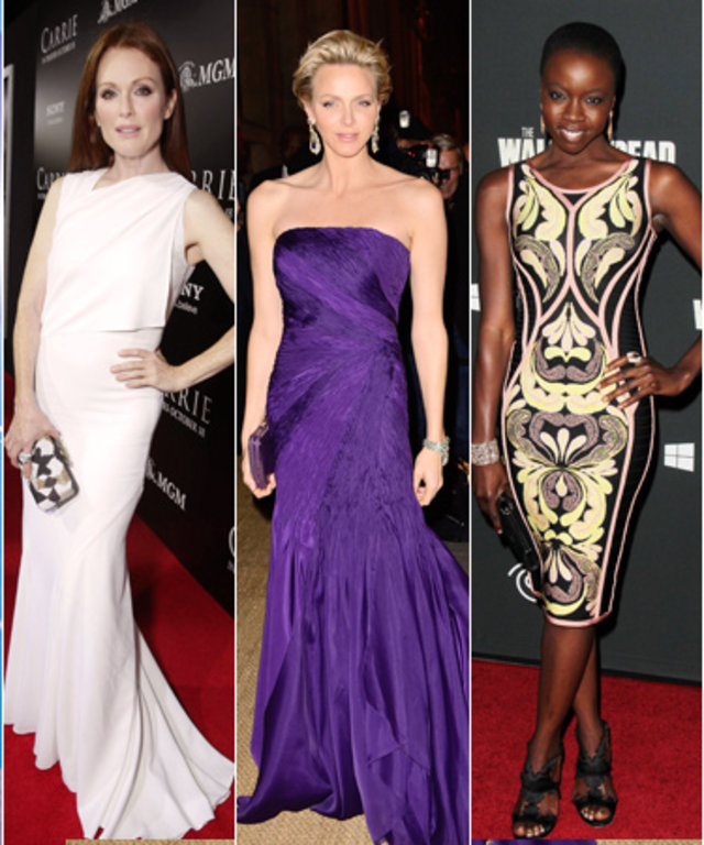 Charlize Theron, Julianne Moore, Princess Charlene, Danai Gurira and Sandra Bullock