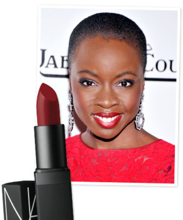 Danai Gurira - Red Lipstick - The Walking Dead
