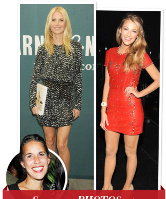 Gwyneth Paltrow, Blake Lively and Isabel Marant