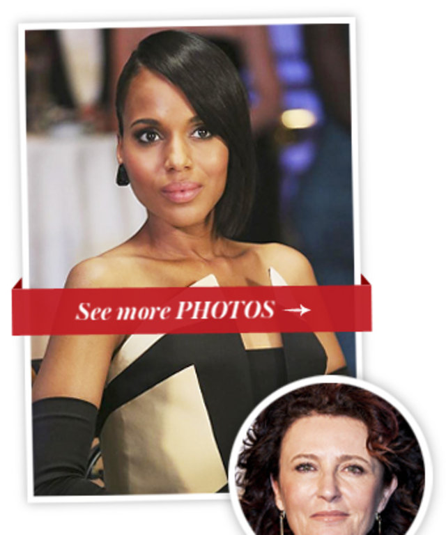Kerry Washington, Scandal and Lyn Paolo