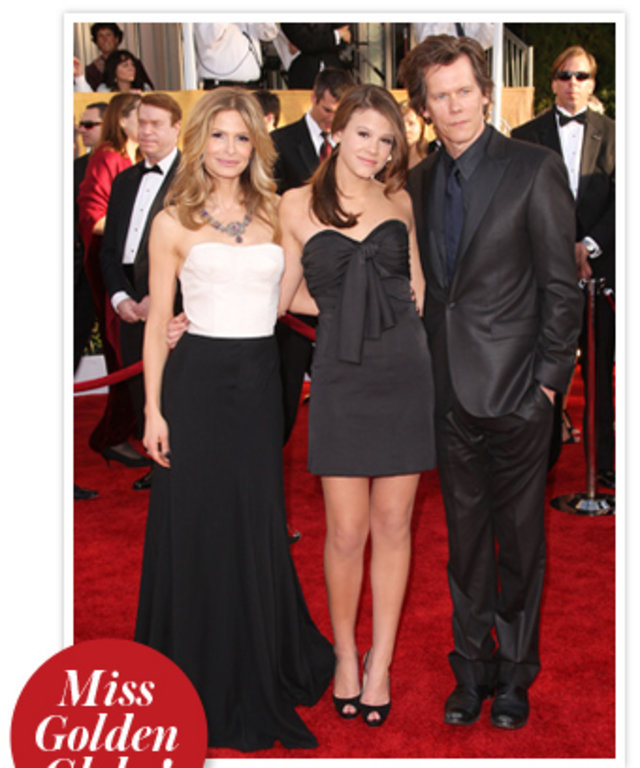Kyra Sedgewick, Sosie Bacon and Kevin Bacon