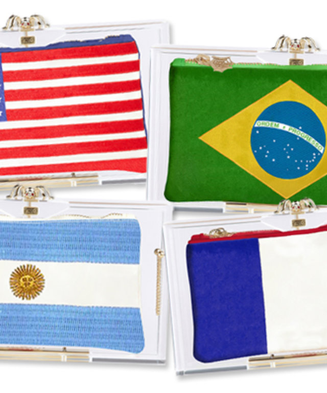 Charlotte Olympia 2014 FIFA World Cup Pandora Box Clutches