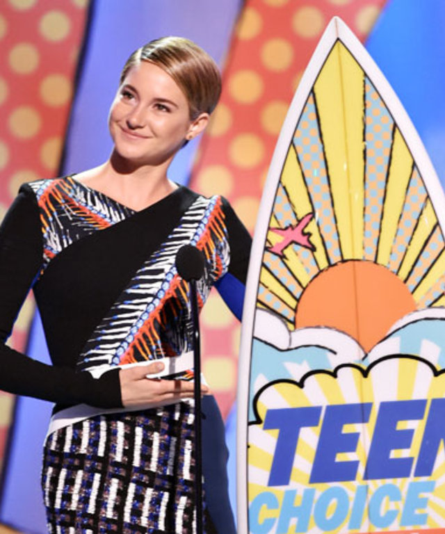 Shailene Woodley at Teen Choice Awards