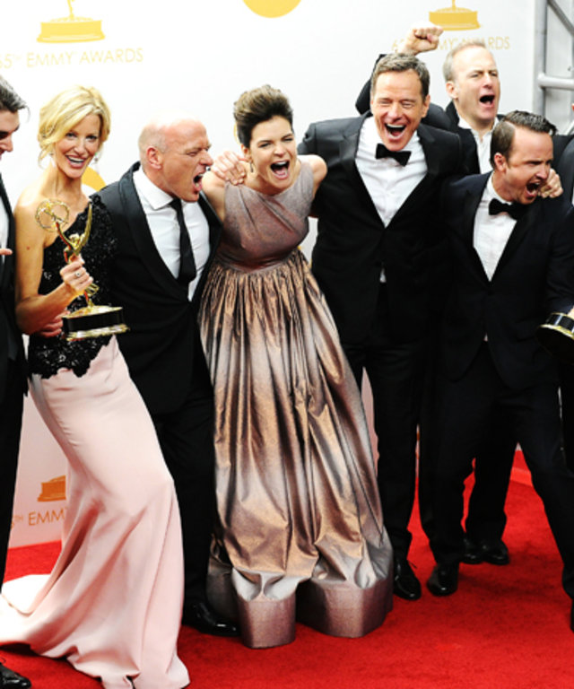 Breaking Bad Cast at the 2013 Emmys