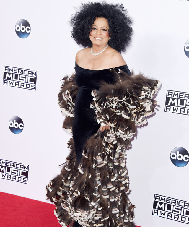 Diana Ross at the 2104 American Music Awards