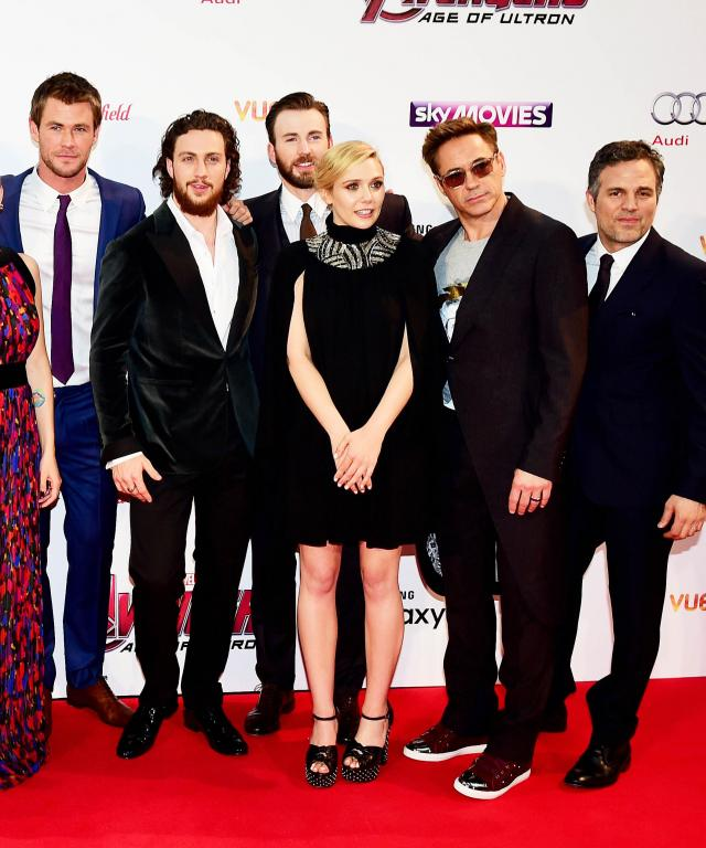Marvel Avengers: The Age Of Ultron Premiere - London
