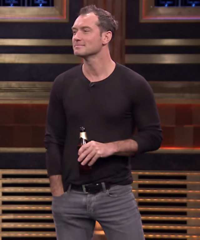 Jude Law on Jimmy Fallon
