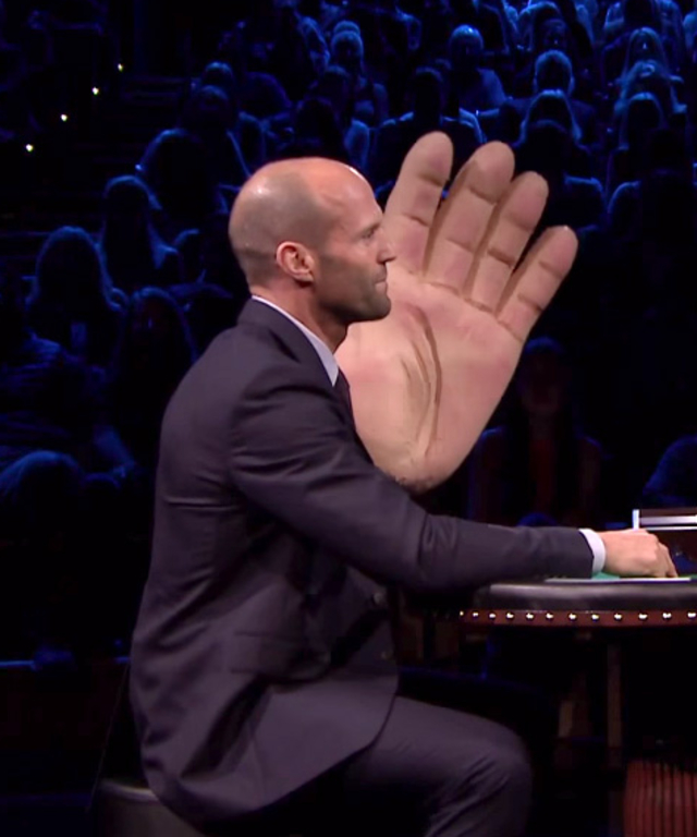 Jason Statham on Jimmy Fallon