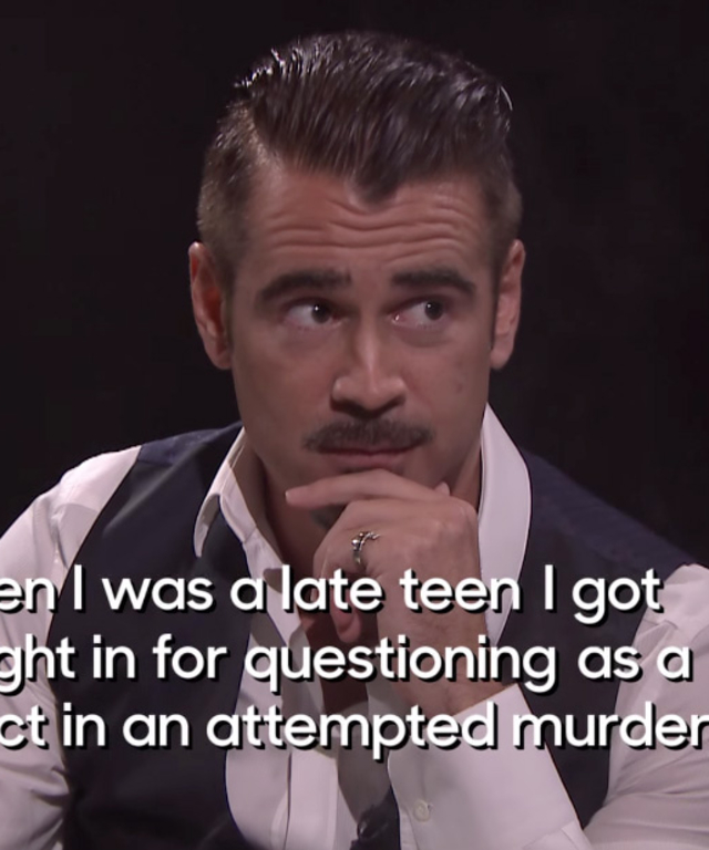 Collin Farrell on Jimmy Fallon