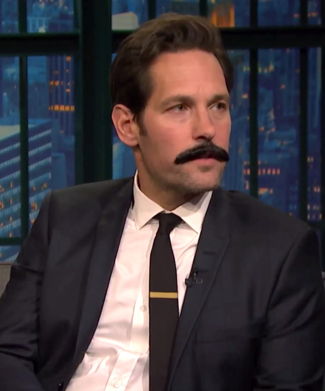 Paul Rudd on Seth Meyers