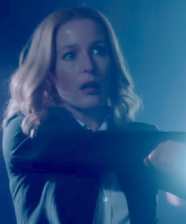 Scully in trailer for X Files ' Return
