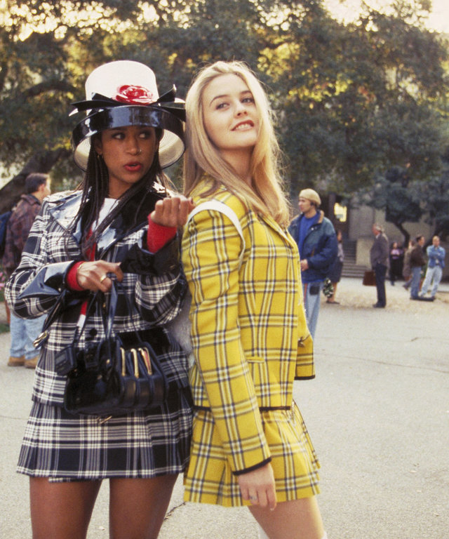 CLUELESS, Stacey Dash, Alicia Silverstone, 1995, (c) Paramount/courtesy Everett Collection