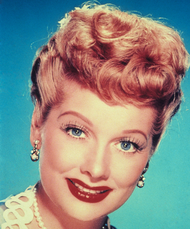 LUCILLE BALL. early 1950s.
