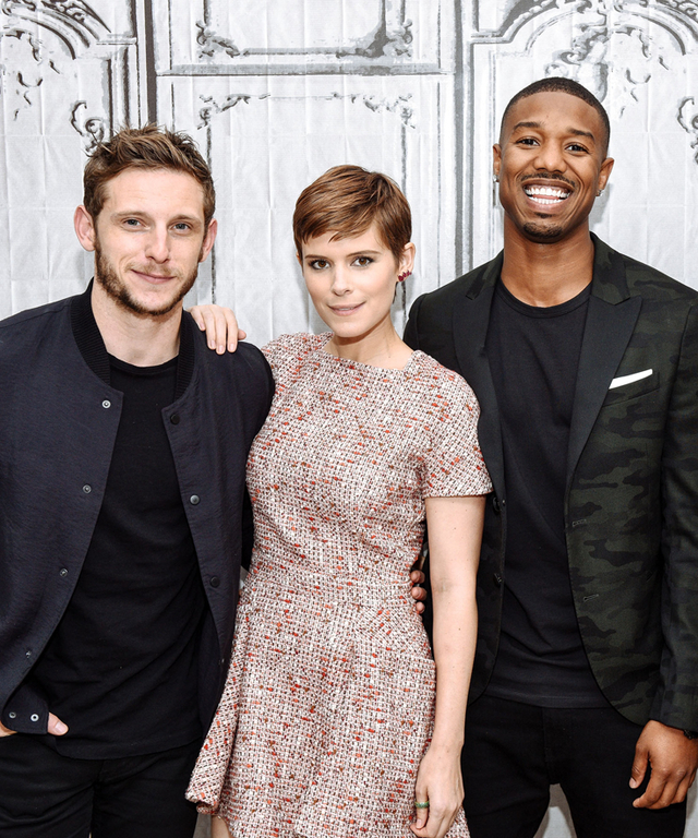 "AOL Build Speaker Series Presents Miles Teller, Kate Mara, Michael B. Jordan And Jamie Bell ""Fantastic Four"""