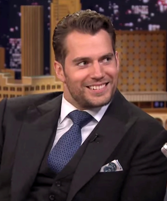Henry Cavill on Jimmy Fallon