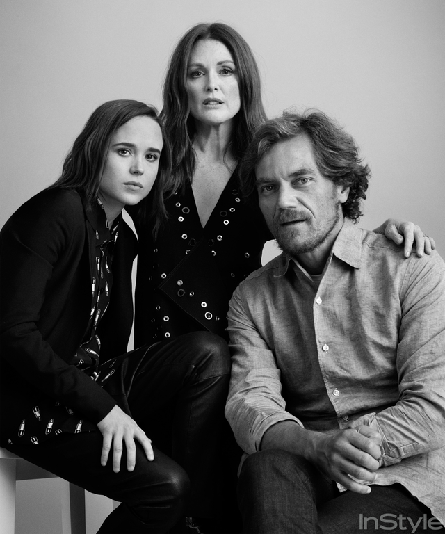 Julianne Moore, Ellen Paige, Michael Shannon, TIFF, portrait Studio, 2015, Toronto International Film Festival