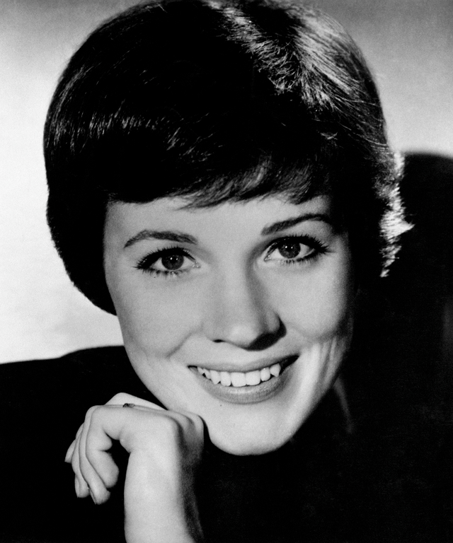 A close up of Julie Andrews