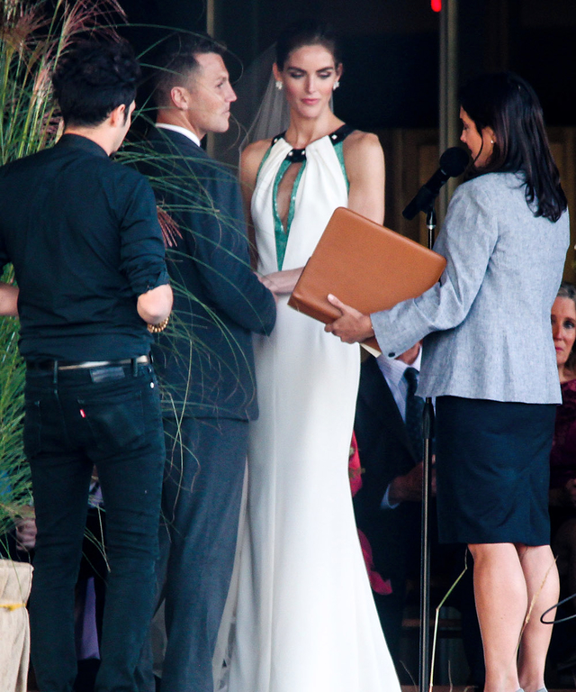 INF - Sean Avery & Hilary Rhoda Tie The Knot in The Hamptons