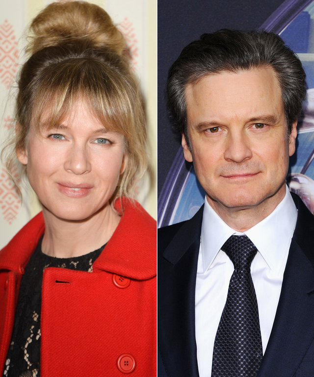 Bridget Jones Baby - Renee Zellweger and Colin Firth