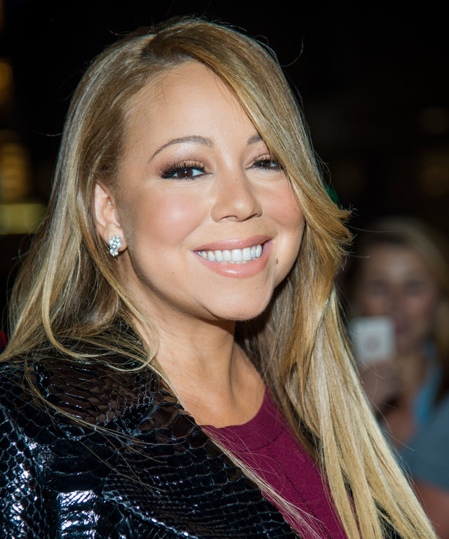 Singer Mariah Carey attends  The Intern  New York Premiere at the Ziegfeld Theater on September 21, 2015 in New York City.