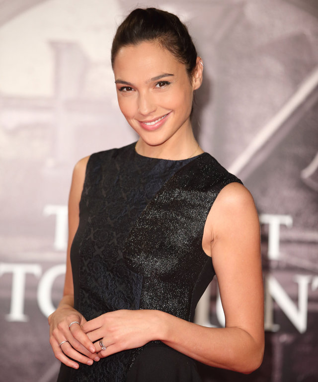 Gal Gadot attends the UK Premiere of 'The Last Witch Hunter' at Empire Leicester Square on October 19, 2015 in London, England.