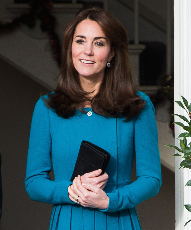 Catherine, Duchess of Cambridge makes an official visit to the Action on Addiction Centre for addiction treatment studies at Action on Addiction Centre on December 10, 2015 in Warminster, England.