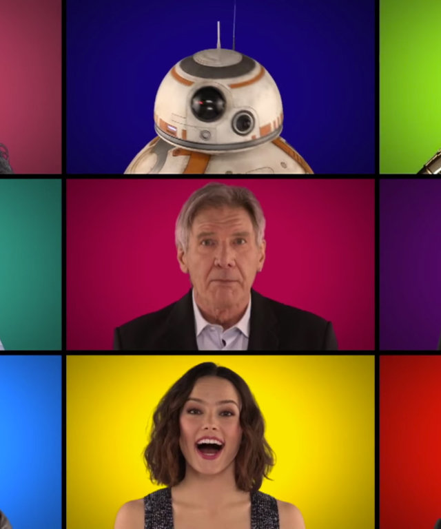 Star Wars Cast - Jimmy Fallon - Theme song