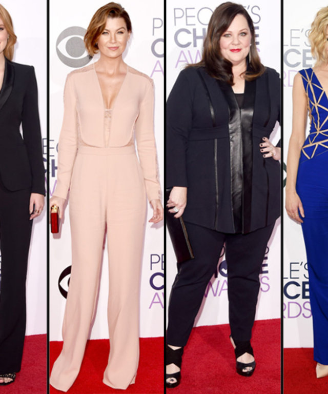 People's Choice Awards 2015 Fashion Trend: Pants
