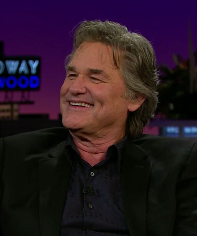 Kurt Russell on James Corden