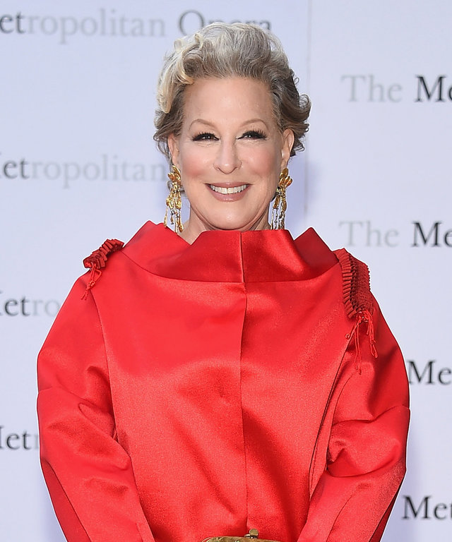 Singer/actress Bette Midler attends the Metropolitan Opera 2015-2016 Season Opening Night's production of 'Otello'at The Metropolitan Opera House on September 21, 2015 in New York City.