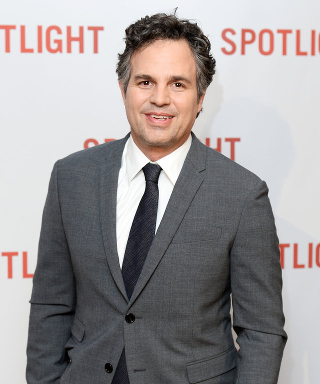 Mark Ruffalo arrives for the UK Premiere of Spotlight at The Washington Mayfair on January 20, 2016 in London, England.