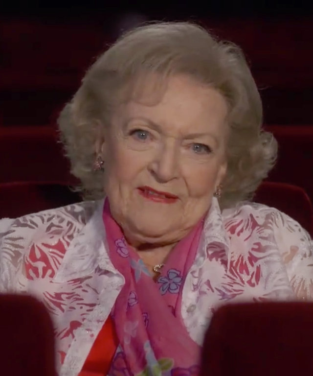 Betty White - Deadpool Review