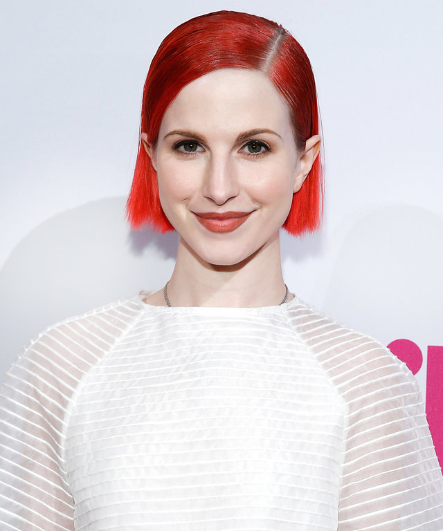 Hayley Williams attends 2014 Billboard Women In Music Luncheon at Cipriani Wall Street on December 12, 2014 in New York City.
