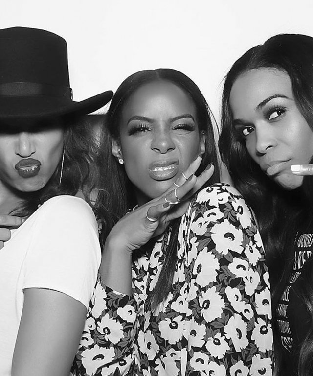 Kelly Rowland's Birthday - Destiny's Child