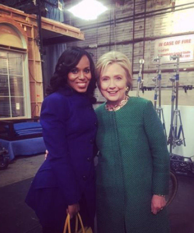 Hillary Clinton - Kerry Washington