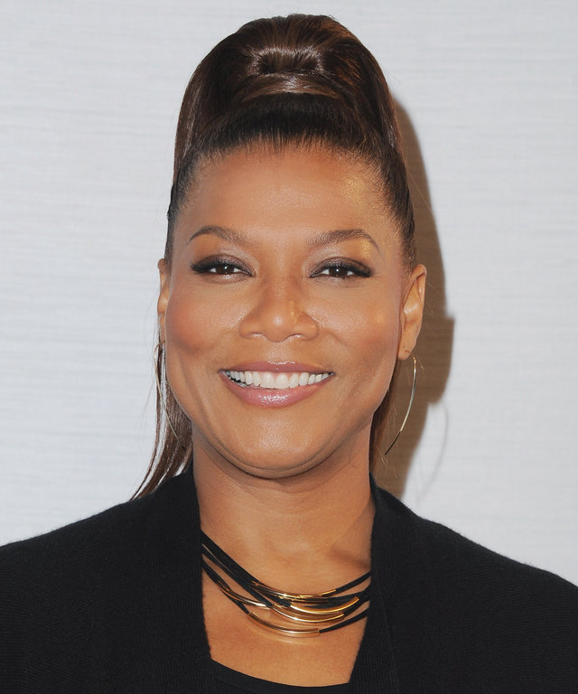 Actress Queen Latifah arrives at Sony Pictures Releasing's 'Miracles From Heaven' Photo Call at The London Hotel on March 4, 2016 in West Hollywood, California.