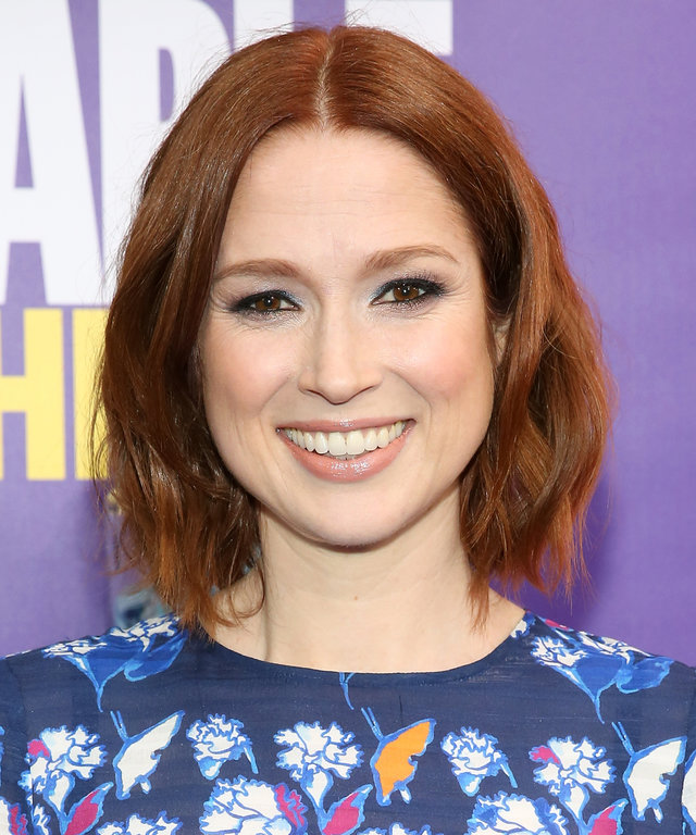 Actress Ellie Kemper attends the 'Unbreakable Kimmy Schmidt' season 2 world premiere at SVA Theatre on March 30, 2016 in New York City.