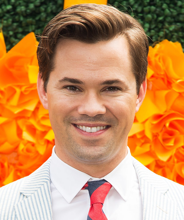 JERSEY CITY, NJ - JUNE 04:  Actor Andrew Rannells attends the 2016 Veuve Clicquot Polo Classic at Liberty State Park on June 4, 2016 in Jersey City, New Jersey.  (Photo by Michael Stewart/WireImage)