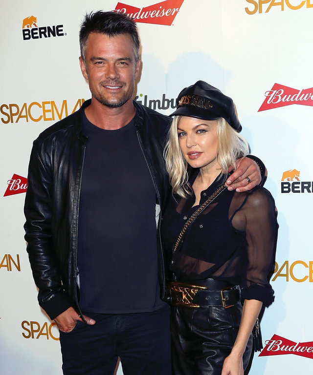 WEST HOLLYWOOD, CA - AUGUST 07:  Actor Josh Duhamel and wife singer Fergie attend the premiere of Orion Pictures'  Spaceman  at The London Hotel on August 7, 2016 in West Hollywood, California.  (Photo by David Livingston/Getty Images)