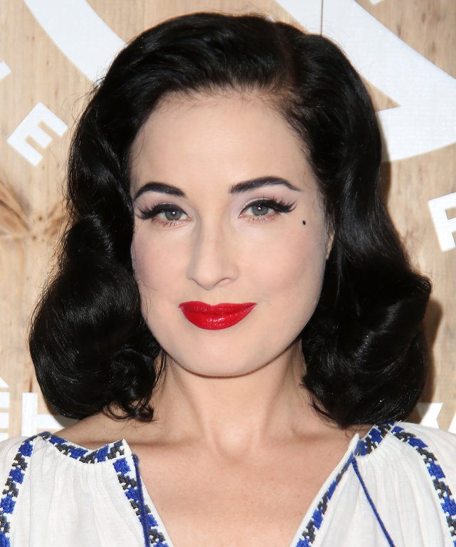 """EAST HAMPTON, NY - SEPTEMBER 03: Dita Von Teese attends the Housing Works and The Points Guy presentation of """"Labor of Love:The Hamptons 2016"""" on September 3, 2016 in East Hampton, New York. (Photo by Sonia Moskowitz/Getty Images)"""