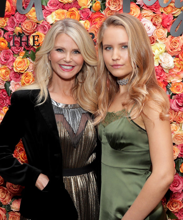 Christie Brinkley and Sailor Brinkley attend Lord & Taylor Garden City Grand Re-Opening Celebration on November 9, 2016 at Lord & Talyor in Garden City, New York.