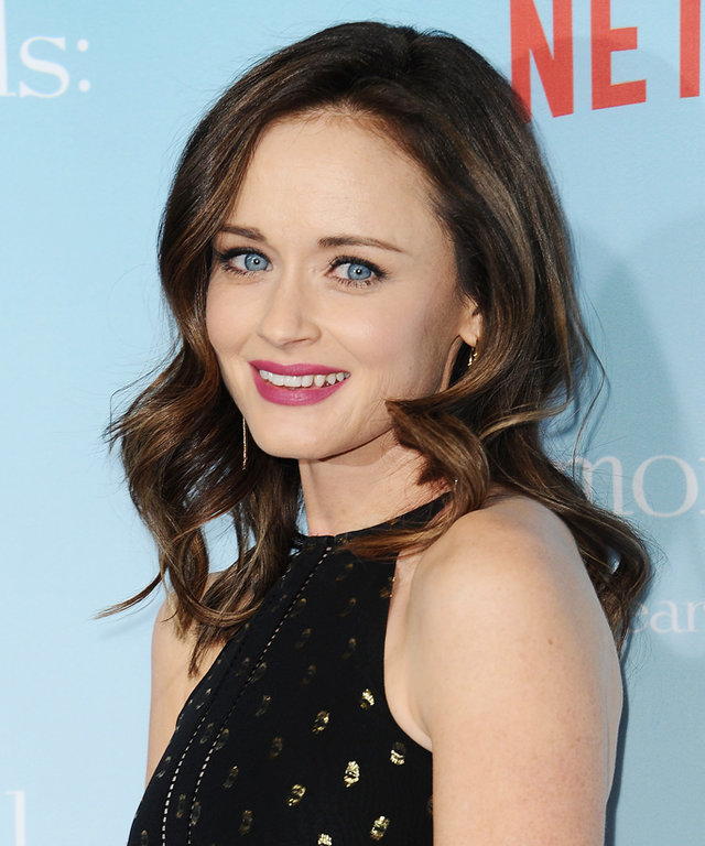 LOS ANGELES, CA - NOVEMBER 19:  Actress Alexis Bledel attends the premiere of  Gilmore Girls: A Year in the Life  at Regency Bruin Theatre on November 18, 2016 in Los Angeles, California.  (Photo by Jason LaVeris/FilmMagic)