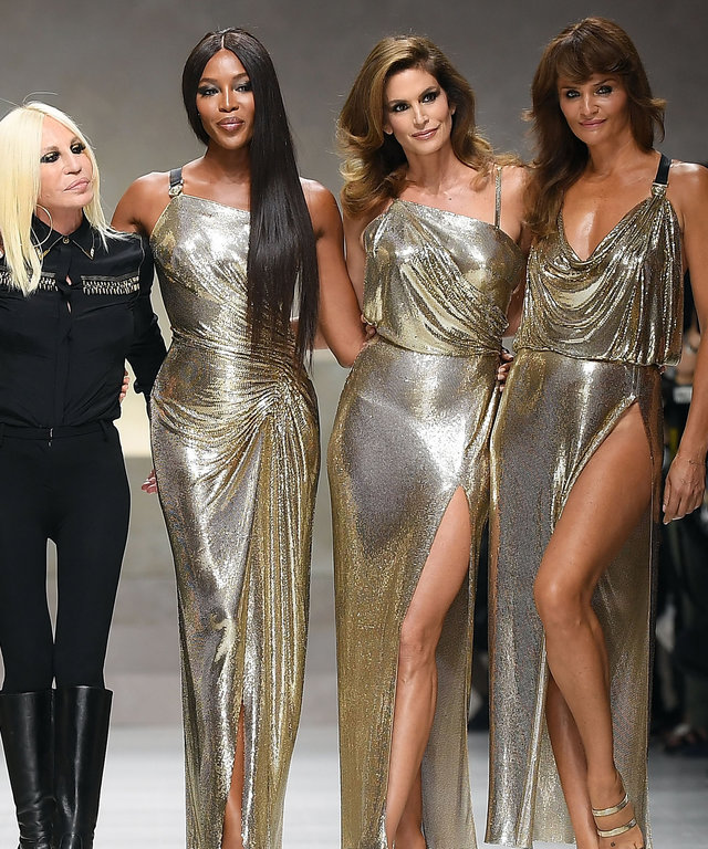 Versace Supermodels