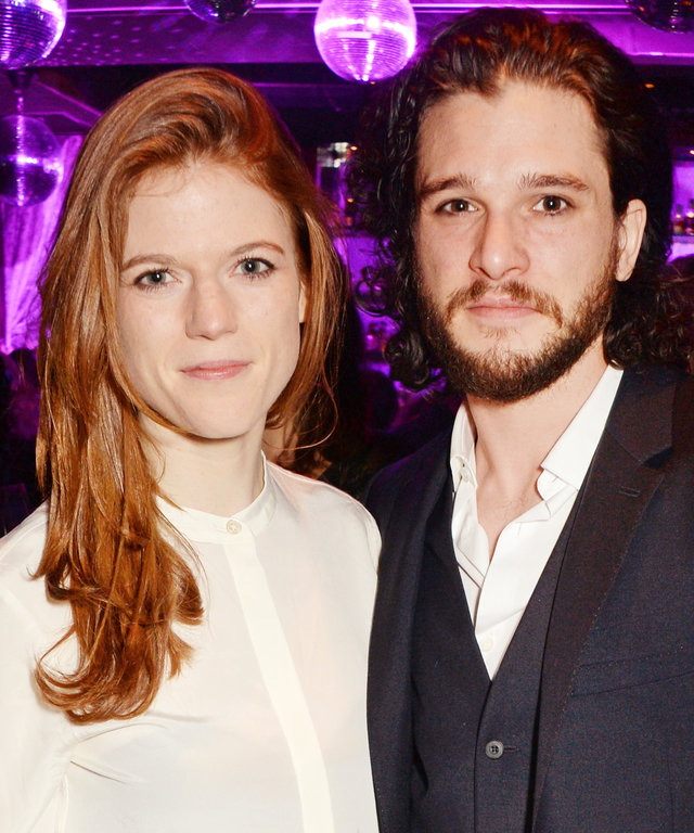 Rose Leslie Kit Harrington