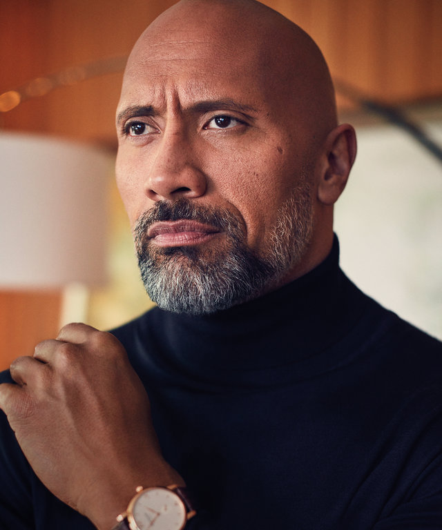 InStyle January - The Rock