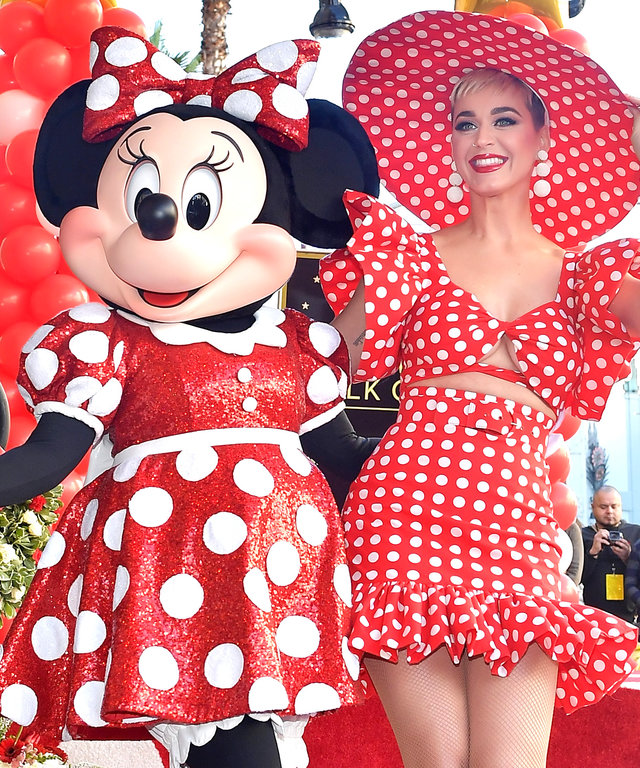 Katy Perry Minnie Mouse