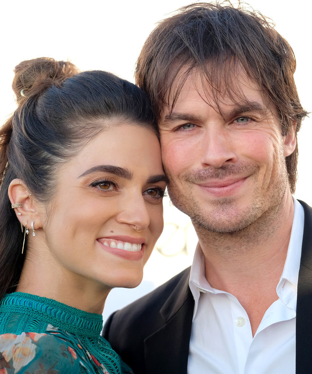 Nikki Reed and Ian Somerhalder