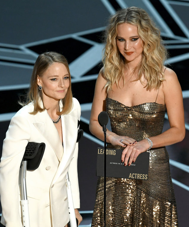 Jennifer Lawrence Jodie Foster